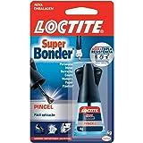 Cola Super Bonder, Loctite, Henkel, Pincel, 4 Gramas