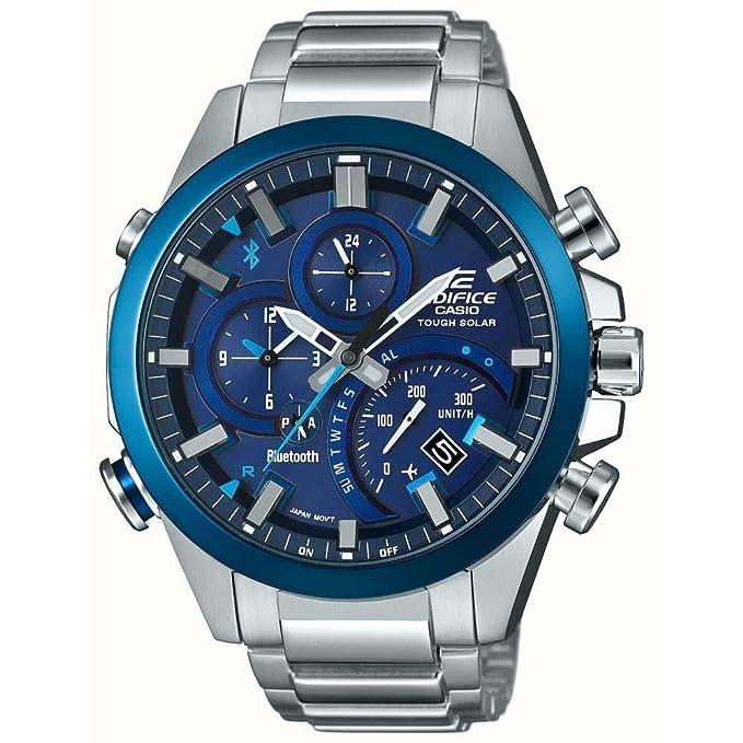 Casio Reloj Cronógrafo para Hombre de Energía Solar con ...