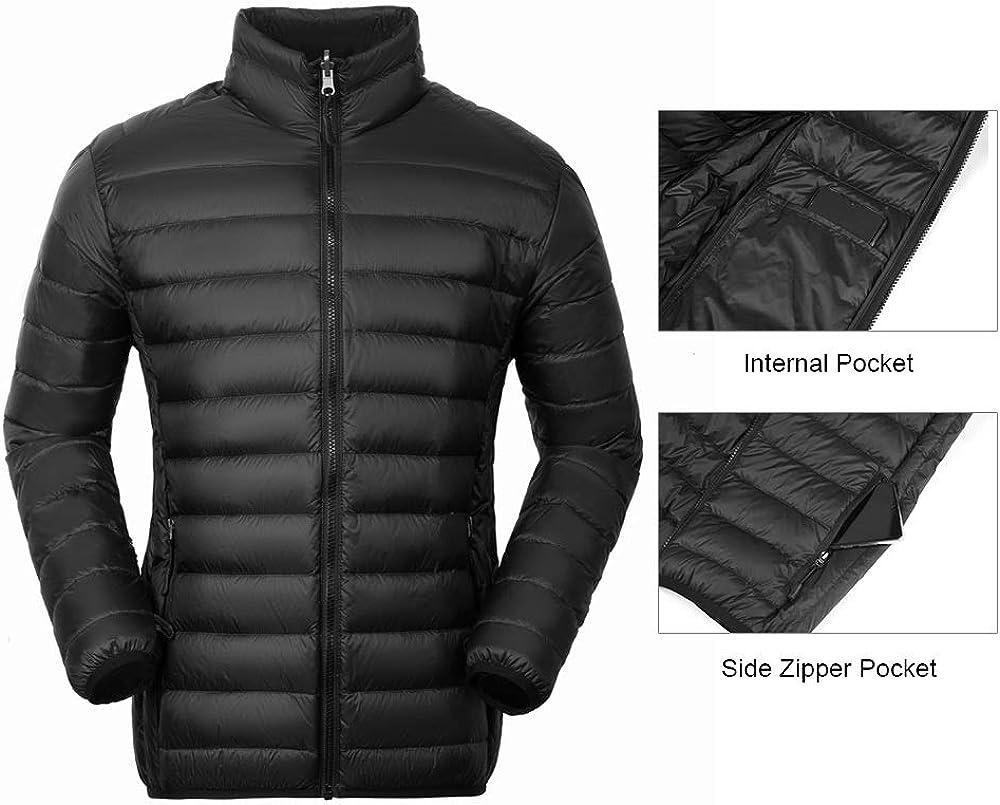 Cleesmil Men/'s 3 in 1 Waterproof Ski Jacket Windproof Hooded Snow Coat with Puffer Liner