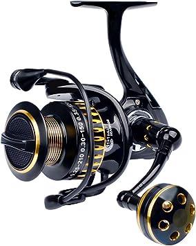 lqgpsx Fishing Reel 11 + 1 BB Rodamientos De Bolas Tipo AleacióN ...
