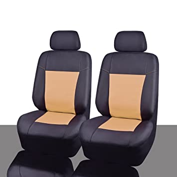 NEW ARRIVAL CAR PASS OXFORD Waterproof Two Front Car Seat Covers Set Universal Fit
