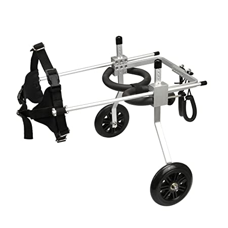 Amazon.com : Anmas Home Adjustable Pet Dog Wheelchair for Back Leg Rehabilitaion : Anmas Home : Pet Supplies