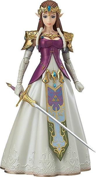 Amazon.com: Good Smile The Legend of Zelda Twilight Princess Zelda Figma  Action Figure: Toys & Games