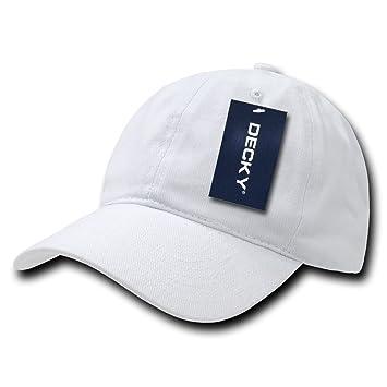 Decky Low Crown Brushed Cotton - Gorra para Hombre, Color Blanco, Talla n/a: Amazon.es: Deportes y aire libre
