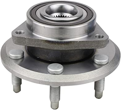 TUPARTS 513277 Wheel Bearing and Hubs Front Rear Compatible with 2007-2016 GMC Acadia 2009-2016 Chevrolet Traverse 2008-2016 Buick Enclave 2007-2010 Saturn Outlook 513277 W//ABS Sensor