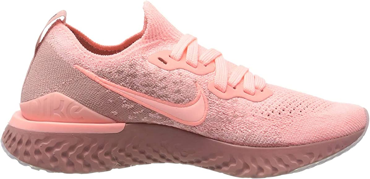 Nike Epic React Flyknit 2, Zapatillas de Running para Mujer, Rosa ...