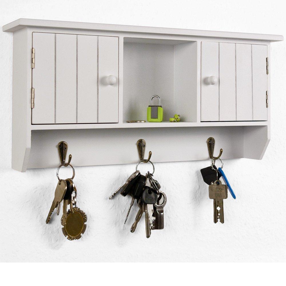 Schlüsselkasten Holz Schlüsselbrett Schlüsselboard Schlüsselschrank ...