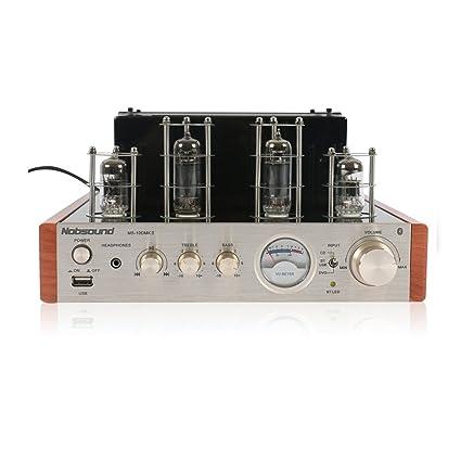 Amplificador de válvulas Nobsound MS-10D MKII con Bluetooth ...