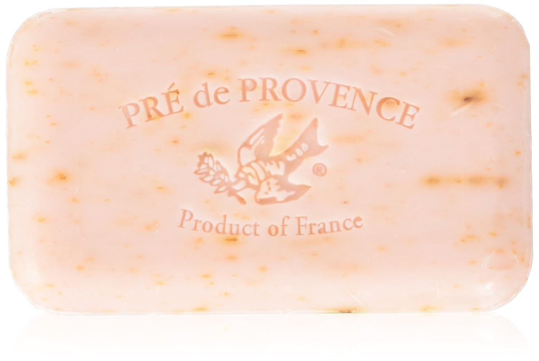 Pre' De Provence Artisanal French Soap Bar Enriched With Shea Butter, Rose Petal, 150 Gram