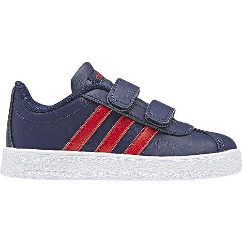 best sneakers f6cb7 200e9 adidas VL Court 2.0 Cmf i, Sneaker Unisex Bimbo, Blu Dark BlueActive