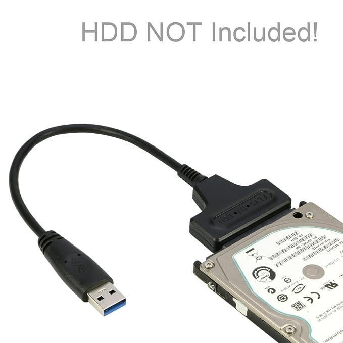 riitop USB 3.0 A SATA III Cable de disco duro externo de 2.5 ...