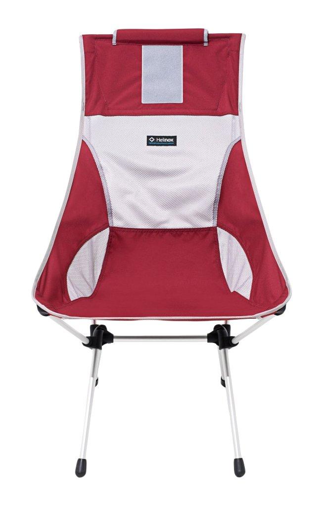 HELINOX – サンセットキャンプ椅子 B011XAOKUQ Rhubarb Red Rhubarb Red