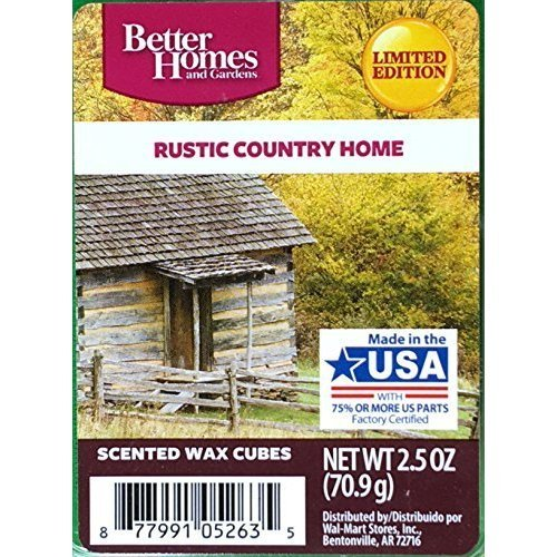 Amazon.com: Better Homes And Gardens Scented Wax Cubes   Rustic Country Home:  Home U0026 Kitchen