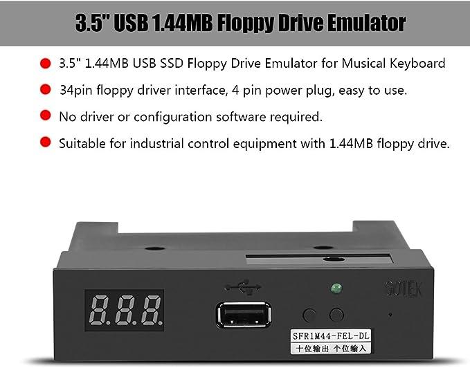 vbestlife sfr1 m44-fel-dl 3.5 \ 1.44mb emulador de unidad SSD ...