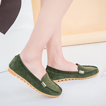 Comfort Flat Shoes Peas Shoes