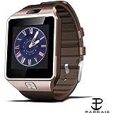 Padraig Oppo 4G Compatible Bluetooth DZ09 Smart Watch Wrist Watch Phone with Camera & SIM Card Support