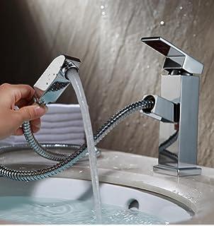 Hervorragend Waschtischarmatur mit Brause als Einhebelmischer: Amazon.de: Küche  JA18