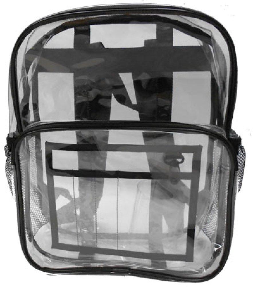 Heavy Duty Clear Backpack by Duffelbags