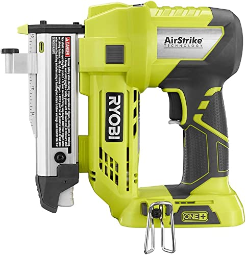 Ryobi 18-Volt ONE Lithium-Ion Cordless AirStrike 23-Gauge 1-3 8 inch Headless Pin Nailer Tool Only