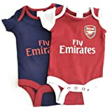 Soccer Hand Made Arsenal Football Club Me And My Daddy Are Watching Arsenal Football Baby Vest Body Suit Premier League 100/% Cotton