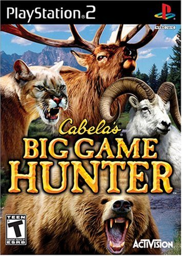 2011 Playstation 2 Game - Cabela's Big Game Hunter - PlayStation 2