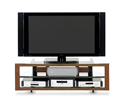 BDI Deploy 9629, Triple Wide Open TV Stand   Natural Stained Cherry  (Discontinued By