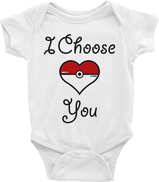 Amazon.com: Pokemon pijama para bebé I Choose You corazón ...