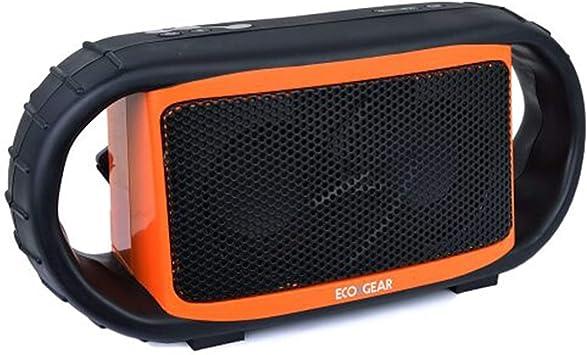 Grace Digital Ecoxgear Ecoxbt Wireless Waterproof Rugged Black Bluetooth Speaker