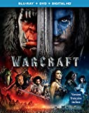 Warcraft [Blu-ray + DVD + Digital HD]