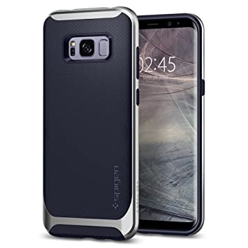 san francisco 90d1f b2d0e Spigen [Neo Hybrid] Galaxy S8 Case Cover with Flexible Inner Protection and  Reinforced Hard Bumper Frame for Galaxy S8 (2017) - Arctic Silver - ...