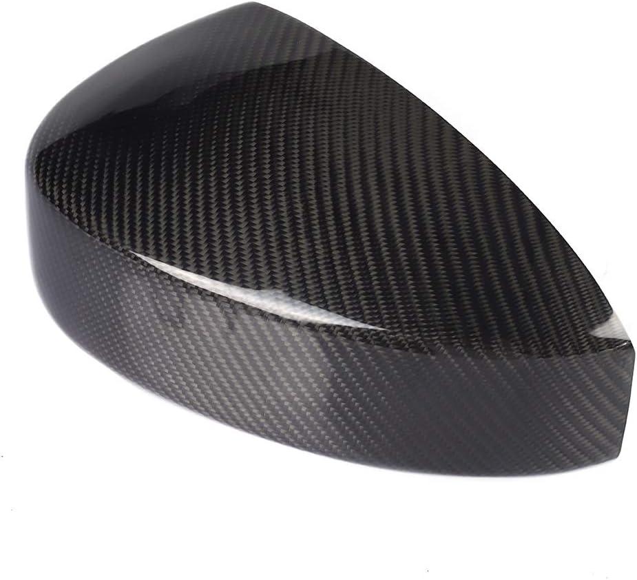1 paire de caches r/étroviseurs en fibre de carbone pour Nissan 350Z Z33 2003-2008 Couverture de r/étroviseur