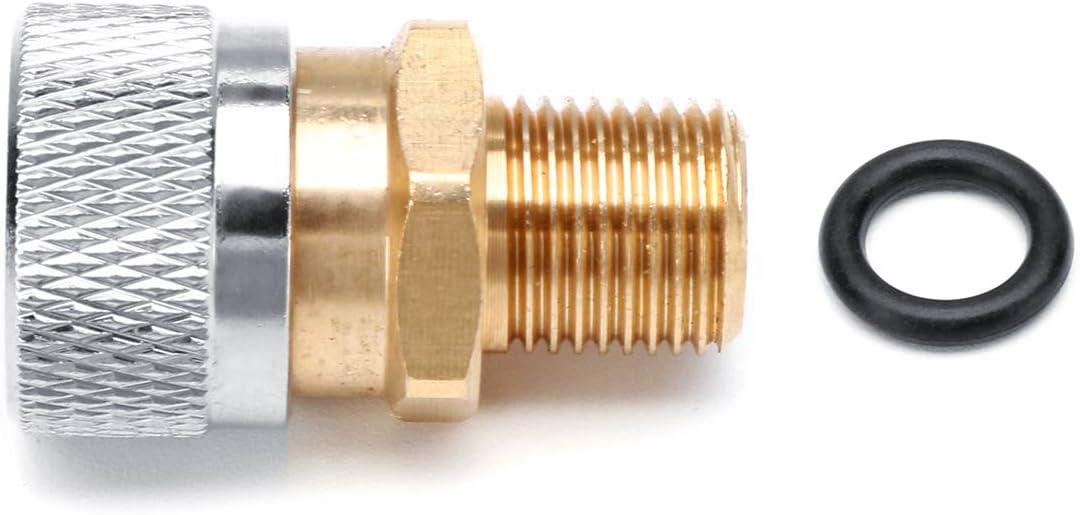 CHIMAKA Juego de adaptadores de carga del acoplador r/ápido del kit de inicio 5pcs para rifles de aire PCP Nuevos accesorios de bricolaje