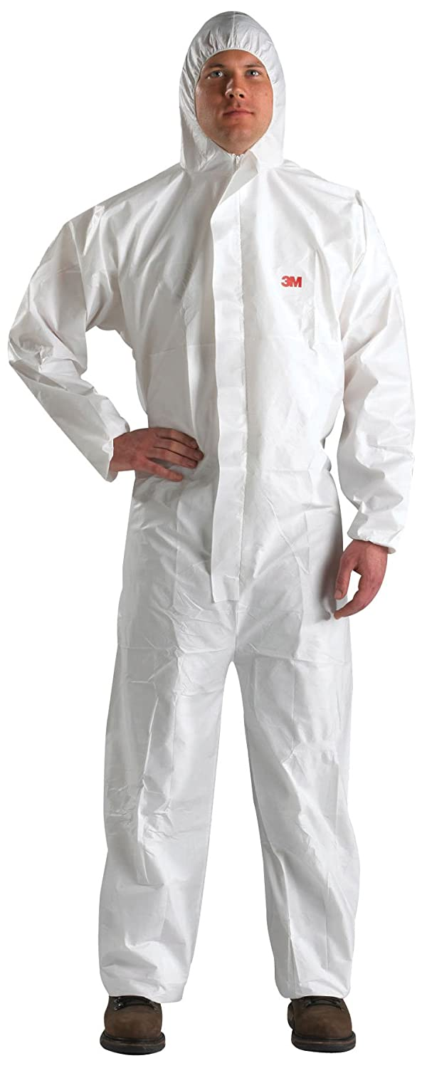 3M Disposable Protective Coverall 4520-BLK-XL, 25 EA/Case