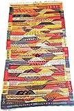 Moroccan Zanafi Tribe Berber Wool Kilim Area Rug 76.5''x42'' [SHIPS FROM WITHIN USA]