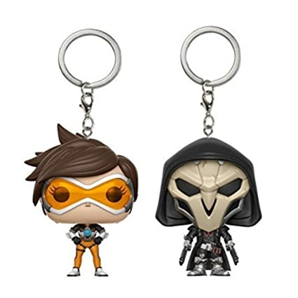 POCKET POP Funko Keychain: Overwatch Bundle - Tracer and Reaper