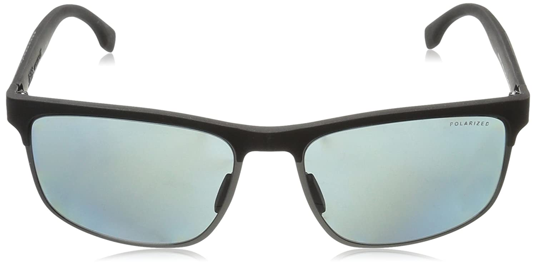 Boss 0835/S RA, Occhiali da Sole Unisex-Adulto, Blk Crbnblk, 58