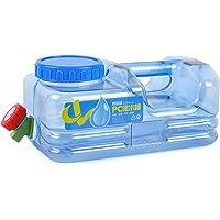 5L Bidón Plástico con Grifo, Contenedor De Agua Portátil, Tanque De Almacenamiento Agua, Seguro, No Tóxico Y De Gran…