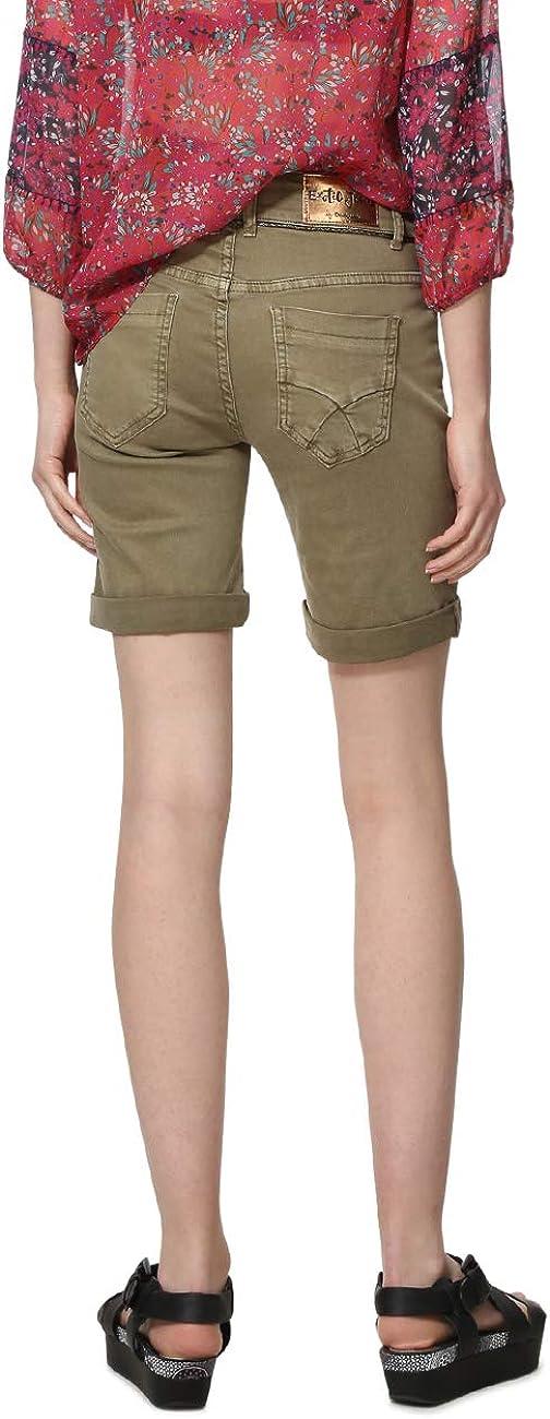 Desigual Ethnic Motifs Long Shorts Essaouira Pantalones Cortos para Mujer