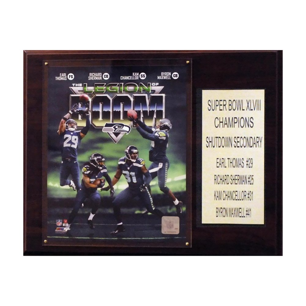 C & I Collectables NFL Seattle Seahawks Legion of Doom Plaque ...