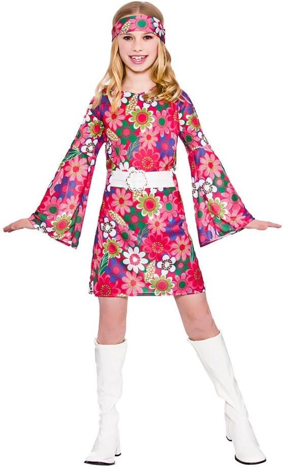 Retro Gogo Girl - Disfraz de disfraces para niños (X Grande - 11 ...