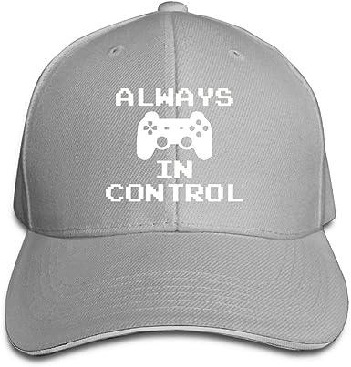 Heart Beat of A Gamer Unisex Sandwich Cap Adjustable Hats