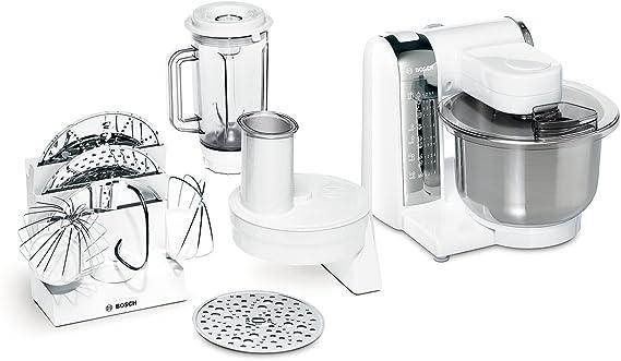 Bosch MUM48CR1 - Robot de cocina, blanco, acero inoxidable: Amazon.es: Hogar