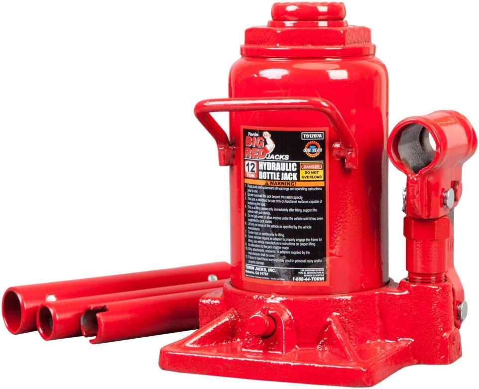 Torin Big Red Hydraulic Stubby Bottle Jack