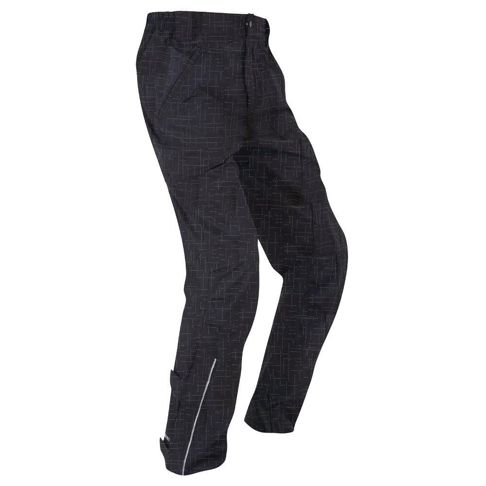 TennメンズDriven 5 K防水/通気性サイクリングパンツ B01LXFH9RM  ブラック(Black/Reflective) Waist 32-34\