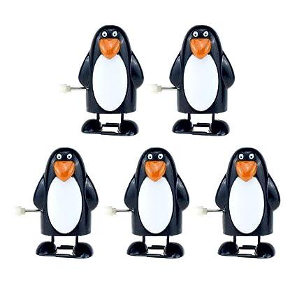 STOBOK Giocattoli di Natale a carica a forma di pinguino