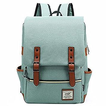 Amazon.com   OURBAG Unisex British Style Casual Waterproof Oxford School Backpack Rucksack Light Green   Kids Backpacks
