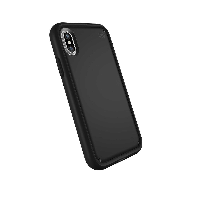 Speck Products Presidio Ultra Case for iPhone X, Black/Black/Black