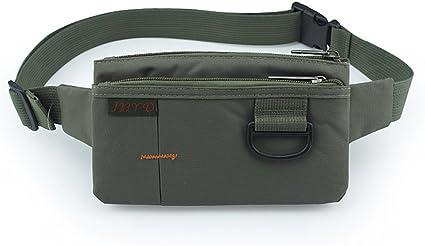 White Cloud Ultraslim Nylon Water Resistant Stealth Small Running Travel Waist Bag Packs