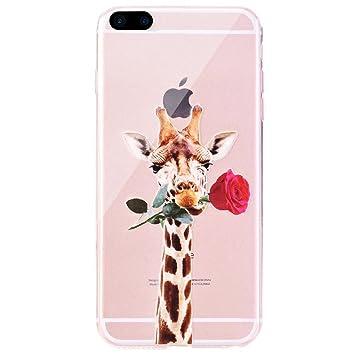 coque iphone 8 plus girafe