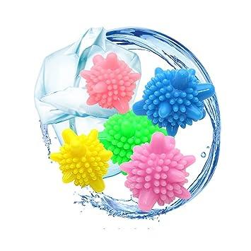 Hemore Waschb/älle,10 St/ück W/äscherei Ball Solid Bunte Maschine Waschen Ball Kunststoff Trockner B/älle